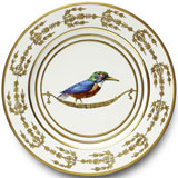Or Des Airs Birds Dinnerware by Alberto Pinto | Gracious Style
