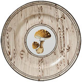 Sous Bois Dinner Plate