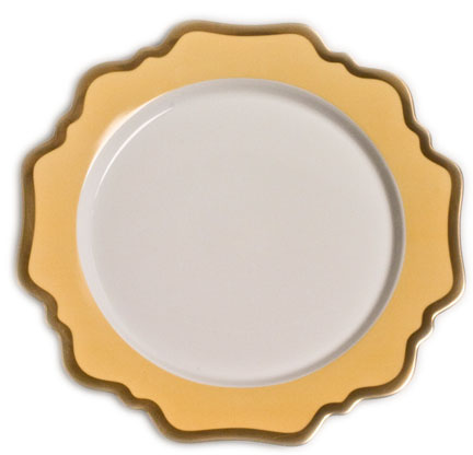 Anna's Palette Sunburst Yellow Dinnerware | Gracious Style