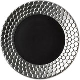 Aegean Sculpted Ebony Dinnerware | Gracious Style