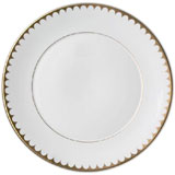L'Objet Aegean Gold Filet Dinnerware | Gracious Style