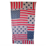 Americana Khaki Beach Towel by Fresco | Gracious Style