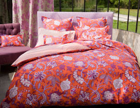 Amita Sheets, Duvet Covers, Shams and Bedskirts in Cotton Sateen  | Gracious Style