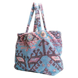Aztec Pink Small Terry Tote Bag by Fresco | Gracious Style