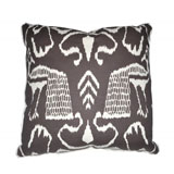 Bali II Turkish Coffee Linen/Cotton Pillow