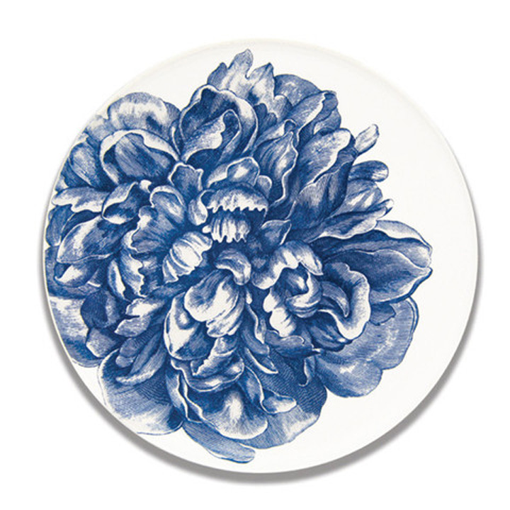 Blue Peony Serving Dishes by Caskata &#124; Gracious Style