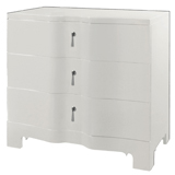 Brigitte White Side Table by Bungalow 5 | Gracious Style