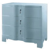 Brigitte Blue Side Table by Bungalow 5 | Gracious Style