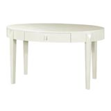 Brigitte White Desk by Bungalow 5 | Gracious Style