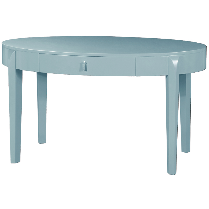Brigitte Blue Desk by Bungalow 5 Furniture &#124; Gracious Style