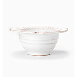 Bellezza White Scallop Serving Bowl | Gracious Style