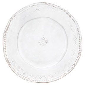 Bellezza White Dinnerware by Vietri | Gracious Style