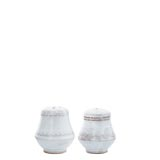 Bellezza White Salt & Pepper Shakers | Gracious Style