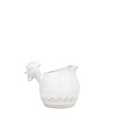 Bellezza White Small Rooster Pitcher | Gracious Style