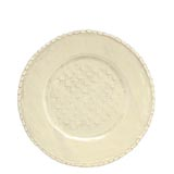 Bellezza Buttercream Service Plate/Charger | Gracious Style