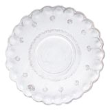 Bellezza White Medium Wall Platter | Gracious Style