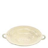 Bellezza Buttercream Large Handled Serving Bowl | Gracious Style