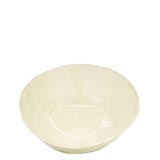 Bellezza Buttercream Medium Deep Serving Bowl | Gracious Style