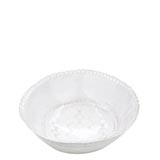 Bellezza White Medium Deep Serving Bowl | Gracious Style