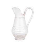 Bellezza White Medium Pitcher | Gracious Style