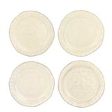 Bellezza Buttercream Assorted Canape Plates | Gracious Style