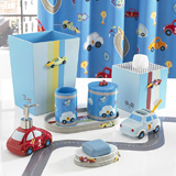 Race Track Bath Accessories by Kassatex | Gracious Style