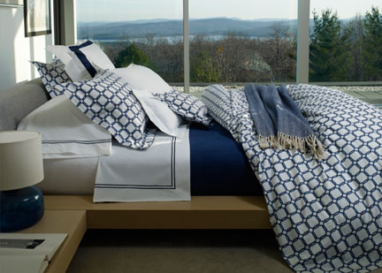 Pattern Play New Graphic Bed Linens From Sferra