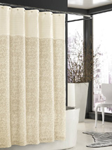 Bedminster Scroll Shower Curtain | Gracious Style