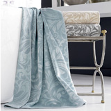 Bedminster Scroll Bath Towels by Kassatex | Gracious Style