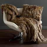 Peacock Alley Bella Throw Blanket & Pillow | Gracious Style