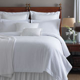 Peacock Alley Biscayne Seersucker Coverlet | Gracious Style