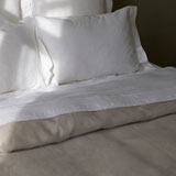Bridgewater Linen Sheets by Libeco | Gracious Style