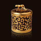 L'Objet Luminescence Leopard Candle | Gracious Style