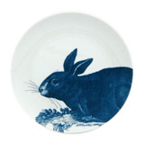 Rabbits Blue Canape Plates by Caskata | Gracious Style