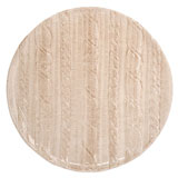 Vietri Cable Knit Oatmeal Dinnerware | Gracious Style
