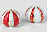 Cristobal Coral Salt & Pepper Shakers | Gracious Style
