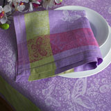 Linen Way St. Tropez Lavender Table Linens &#124; Gracious Style