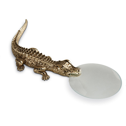 L'Objet Crocodile Magnifying Glass | Gracious Style