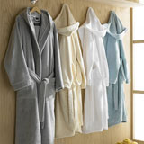 Contempo Bathrobe by Kassatex | Gracious Style