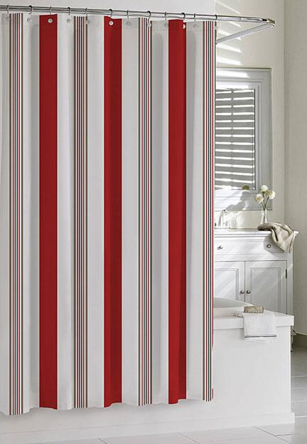 Kassatex Cabana Stripe Shower Curtain