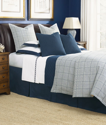 Cotswold Navy Bedding