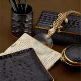 L'Objet Crocodile Desk Accessories | Gracious Style