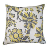 Lemongrass Batik Pillow by Lacefield Designs