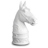 Horse White Bookend