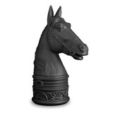 Horse Black Bookend