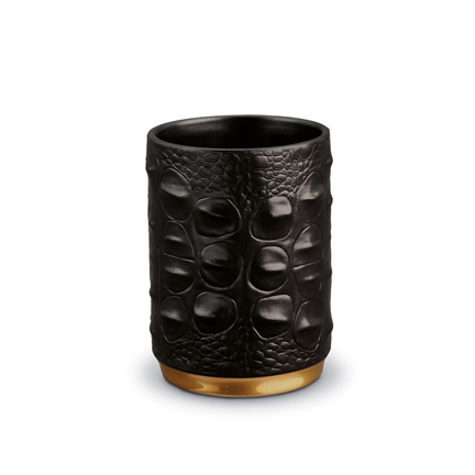 L'Objet Crocodile Pencil Cup | Gracious Style