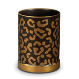 Leopard Pencil Cup 3.5 in