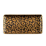 Leopard Rectangular Tray 12 x 6 in