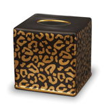 Leopard Tissue Box 6 in Sq.