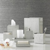 Delano Silver Bath Accessories by Kassatex | Gracious Style